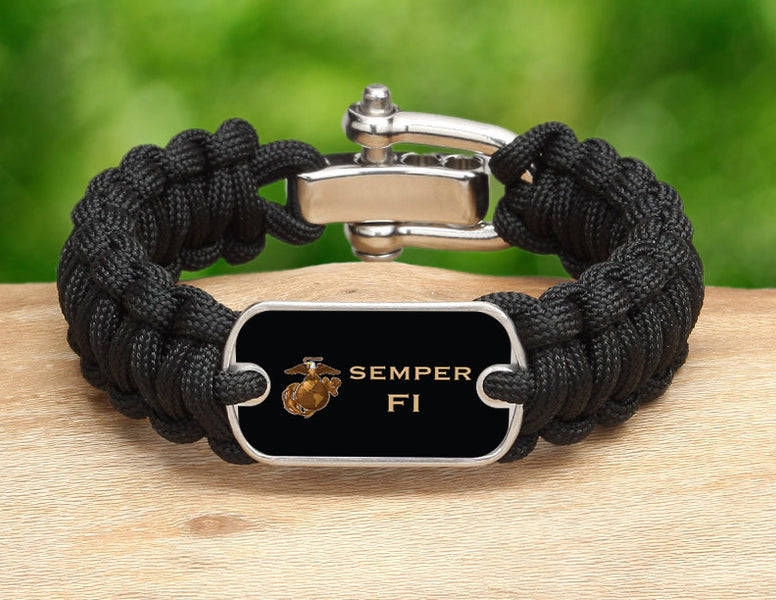 Regular Survival Bracelet™ - USMC Semper Fi