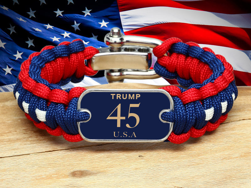 Regular Survival Bracelet™ - Trump 45 USA