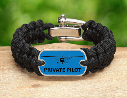Regular Survival Bracelet™ - Private Pilot Tag