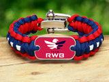 Regular Survival Bracelet™ - Team RWB Red Tag