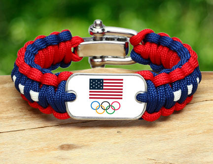 Regular Survival Bracelet™ - Team USA 5-Ring