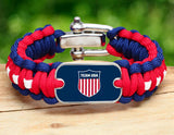 Regular Survival Bracelet™ - Team USA Shield