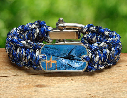 Regular Survival Bracelet™-Guy Harvey-Blue Marlin Camo