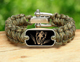 Regular Survival Bracelet™- Navy SEAL Foundation - Bone Frog Matches Multicam®