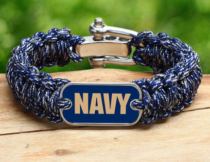 Regular Survival Bracelet - Officially Licensed - U.S. Navy - V2
