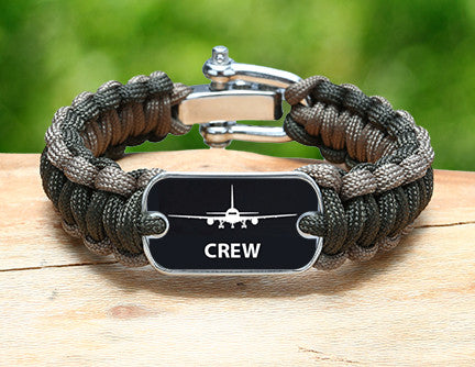 Regular Survival Bracelet™ - Crew Tag