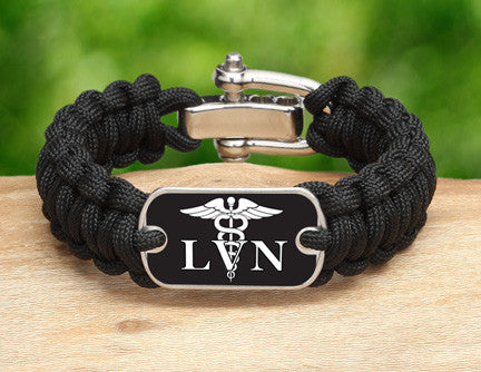 Regular Survival Bracelet™ - Licensed Vocational Nurses Tag