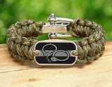 Regular Survival Bracelet™ - Corrections Officers Handcuffs