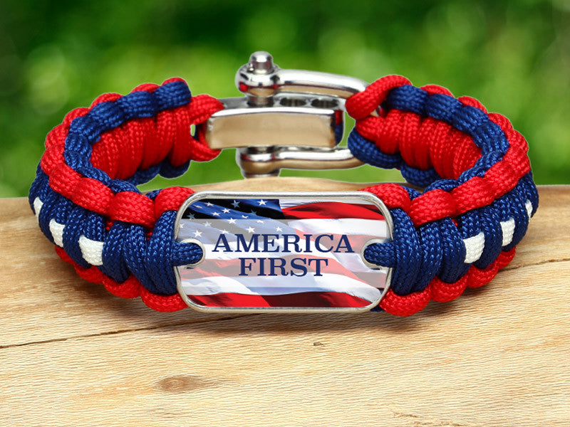 Regular Survival Bracelet™ - America First RWB
