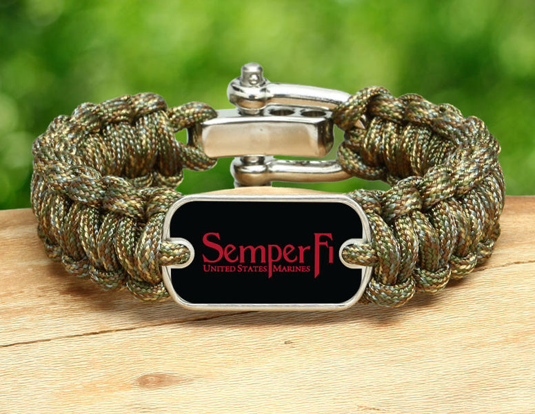 Regular Survival Bracelet™ - Red Semper Fi