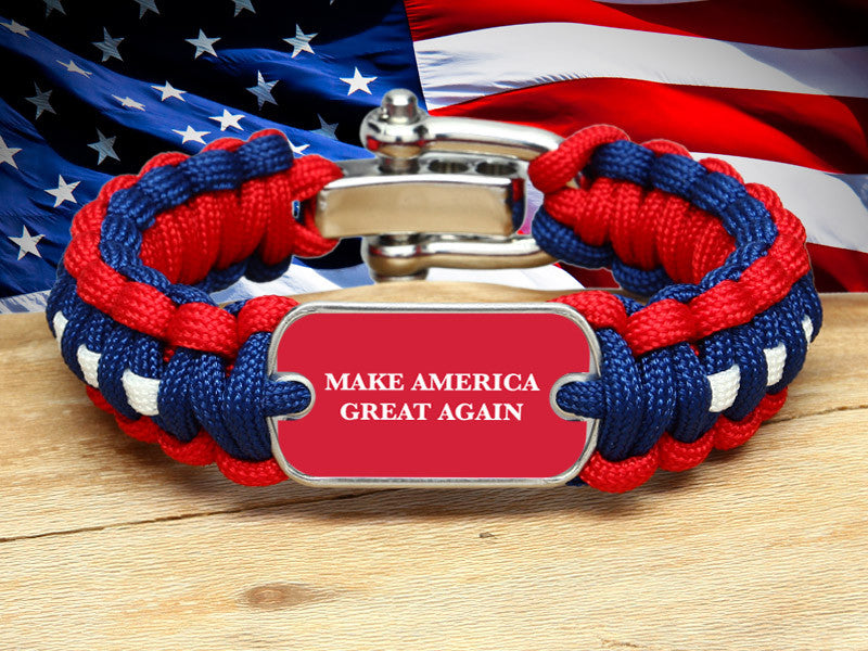 Regular Survival Bracelet™ - Make America Great Again