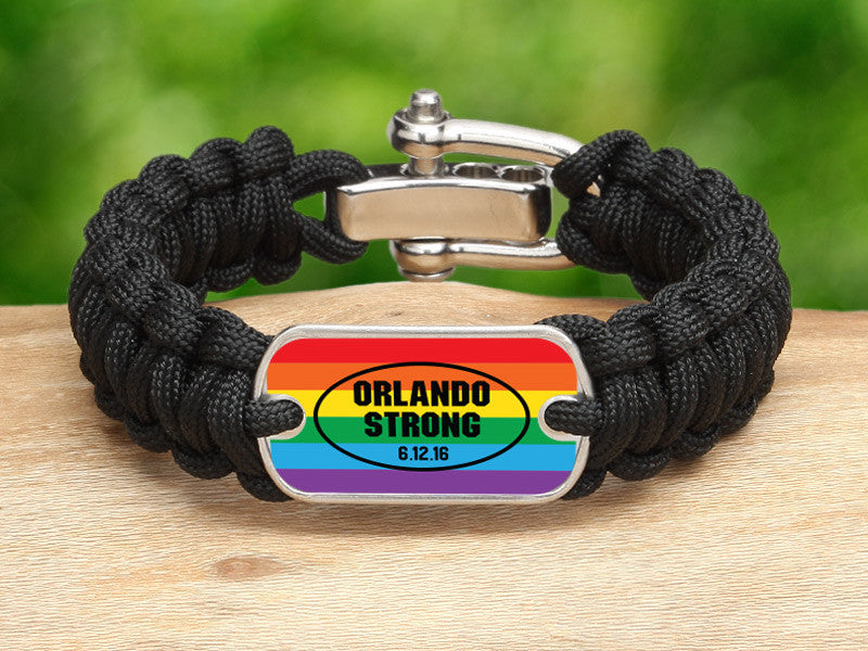 Regular Survival Bracelet™ - Orlando Strong Pride