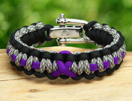 Regular Survival Bracelet™ - Standard Ribbons