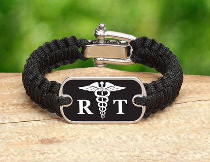 Light Duty Survival Bracelet™ - Respiratory Therapist Tag