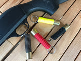 Paracord 12 gauge Shotshell Key Fob