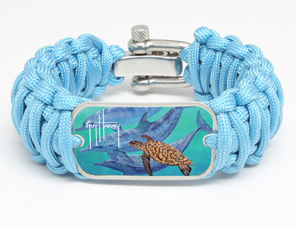 WIDE Survival Bracelet™-Guy Harvey-Spots