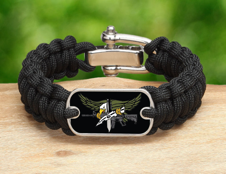 Regular Survival Bracelet™ - Police SWAT