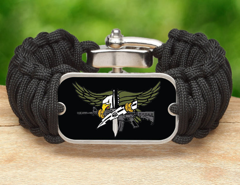 Wide Survival Bracelet™ - Police SWAT