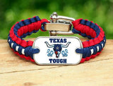 Light Duty Survival Bracelet™ - Texas Tough Horn Logo