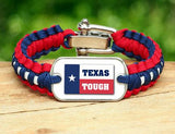 Light Duty Survival Bracelet™ - Texas Tough Flag Logo