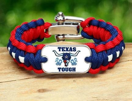 Regular Survival Bracelet™ - Texas Tough Horn Logo