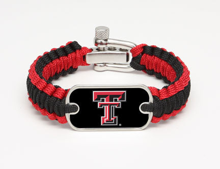 Light Duty Survival Bracelet™ - Officially Licensed - Texas Tech Red Raiders™