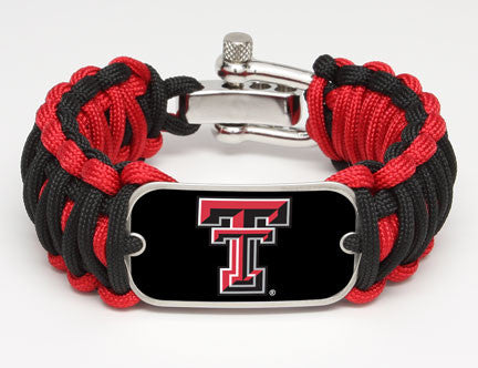 Wide Survival Bracelet™ - Officially Licensed - Texas Tech Red Raiders™