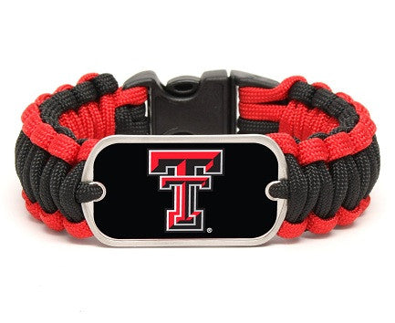 Regular Survival Bracelet™ - Officially Licensed - Texas Tech Red Raiders™
