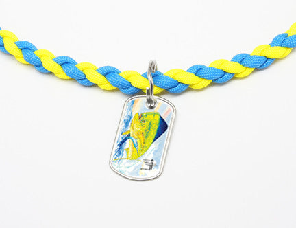 Necklace-Guy Harvey-Top Fin