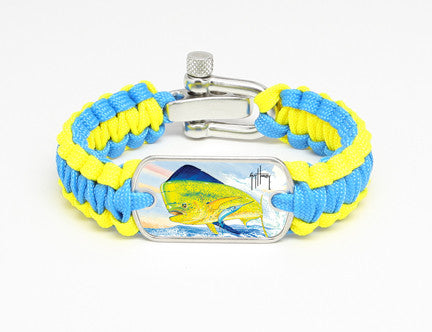 Light Duty Survival Bracelet™-Guy Harvey-Top Fin