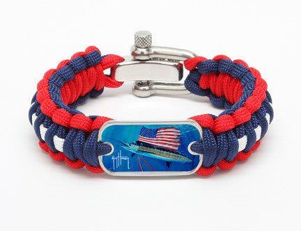 Regular Survival Bracelet™-Guy Harvey-Tribute to America