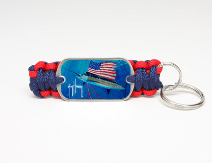 Key Fob-Guy Harvey-Tribute to America