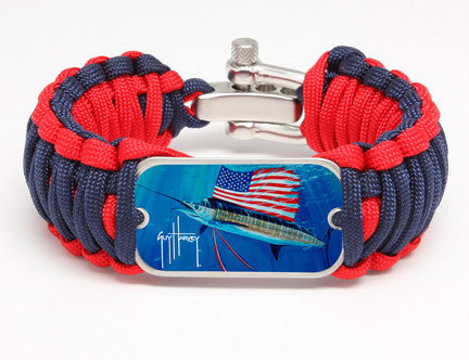 WIDE Survival Bracelet™-Guy Harvey-Tribute to America