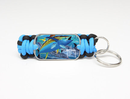 Key Fob-Guy Harvey-Tuna Tango