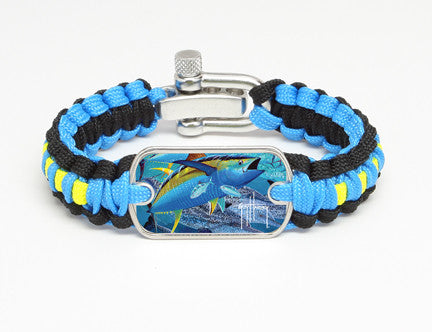 Light Duty Survival Bracelet™-Guy Harvey-Tuna Tango