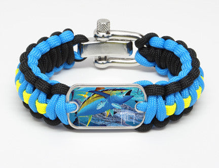 Regular Survival Bracelet™-Guy Harvey-Tuna Tango