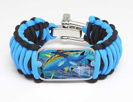 WIDE Survival Bracelet™-Guy Harvey-Tuna Tango