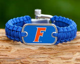 Light Duty Survival Bracelet™ - Officially Licensed - Florida Gators® V2