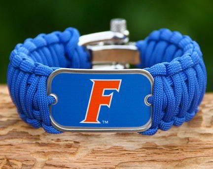Wide Survival Bracelet™ - Officially Licensed - Florida Gators® V2