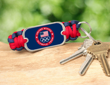 Key Fob - US Olympic Team (Blue)