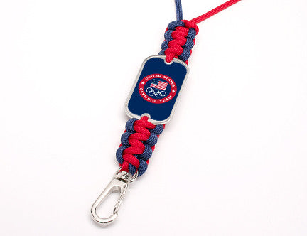 Neck ID Lanyard -US Olympic Team (Blue)
