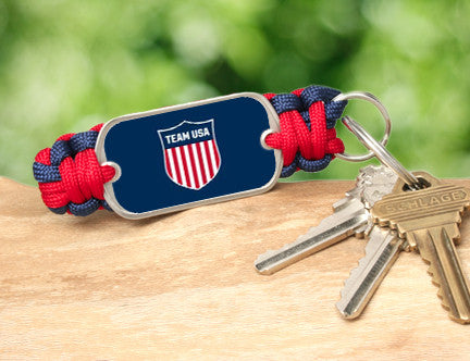Key Fob - Team USA Shield