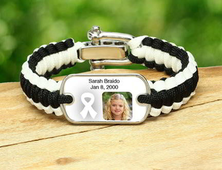 Light Duty Survival Bracelet - Picture Ribbons - T