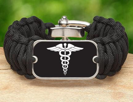 Wide Survival Bracelet™ - Doctors Tag