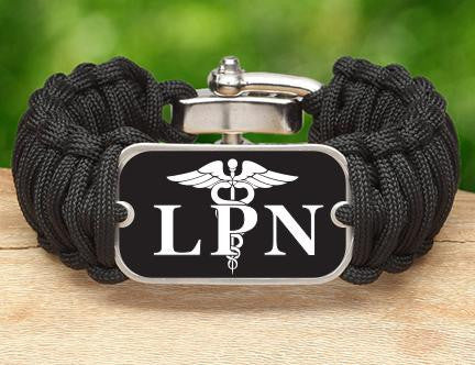 Wide Survival Bracelet™ - Licensed Practical Nurses Tag