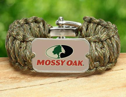 Wide Survival Bracelet™ - Mossy® - Matches Multicam®
