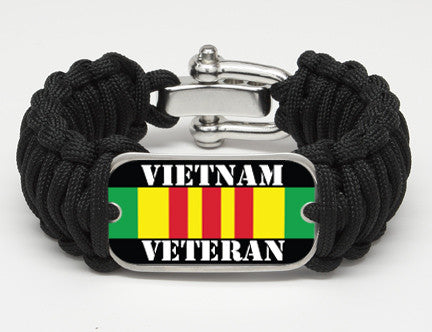 WIDE Survival Bracelet™- Vietnam Veteran