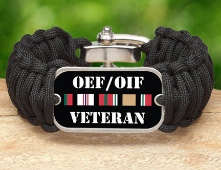 WIDE Survival Bracelet™- OEF/OIF Veteran