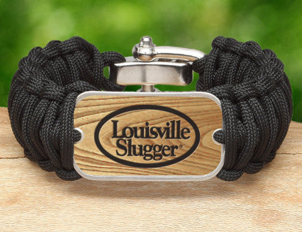Wide Survival Bracelet - Louisville Slugger®