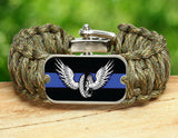 Wide Survival Bracelet™ - Police Motor Unit